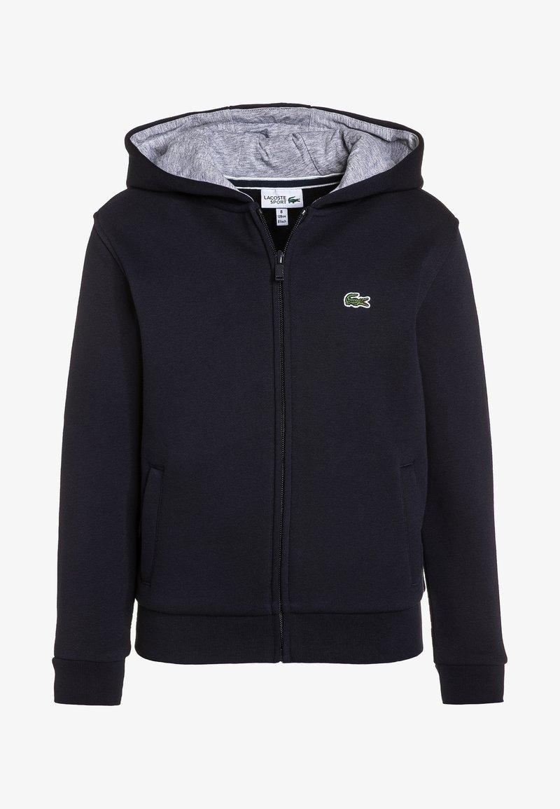 Lacoste Sport - TENNIS - Zip-up hoodie - navy blue/silver chine