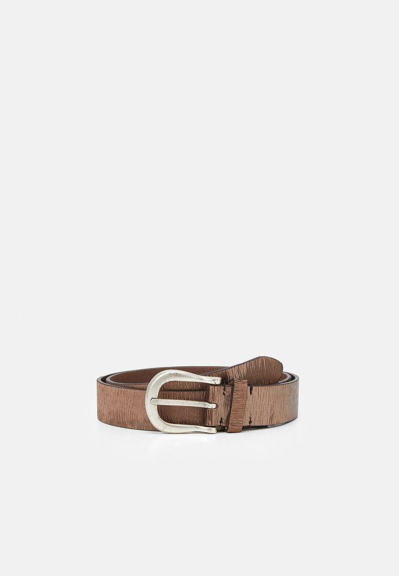 Vanzetti - Belt - taupe/copper