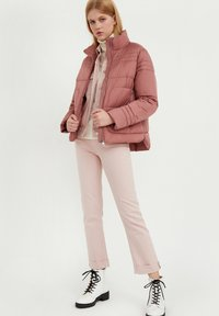 Finn Flare - Winter jacket - dark pink - 1