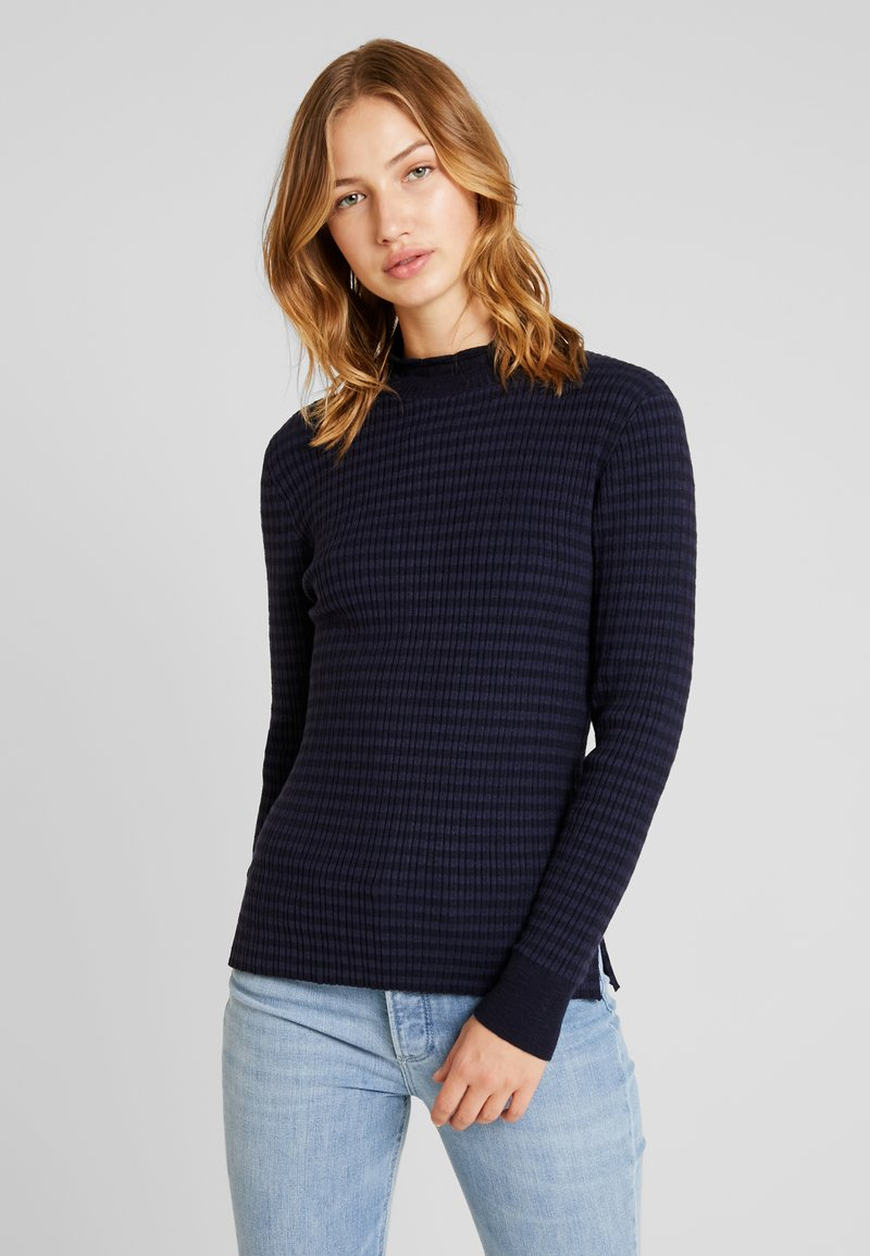 G-Star - MOCK TURTLE - Jumper - saru blue