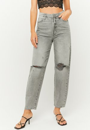 Relaxed fit jeans - gry