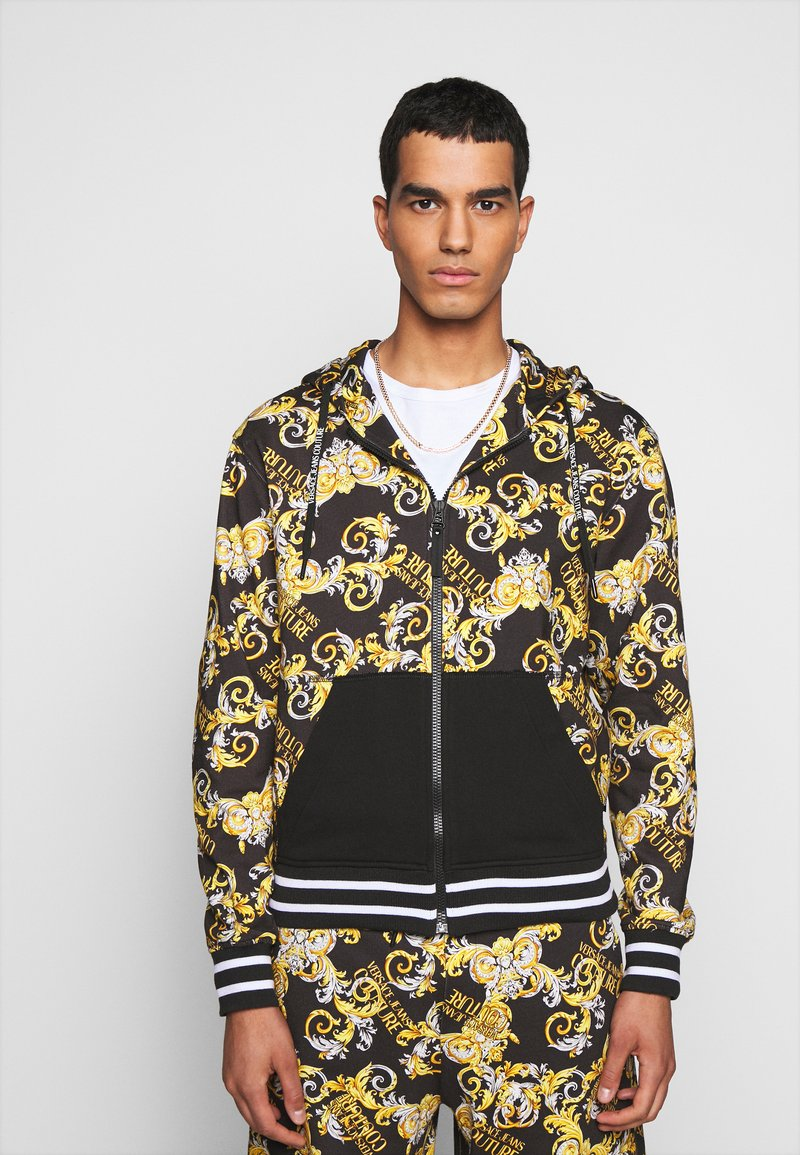 Versace Jeans Couture - Zip-up hoodie - nero