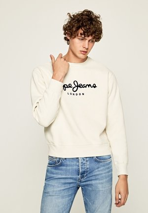 ALBERT - Sweatshirt - white
