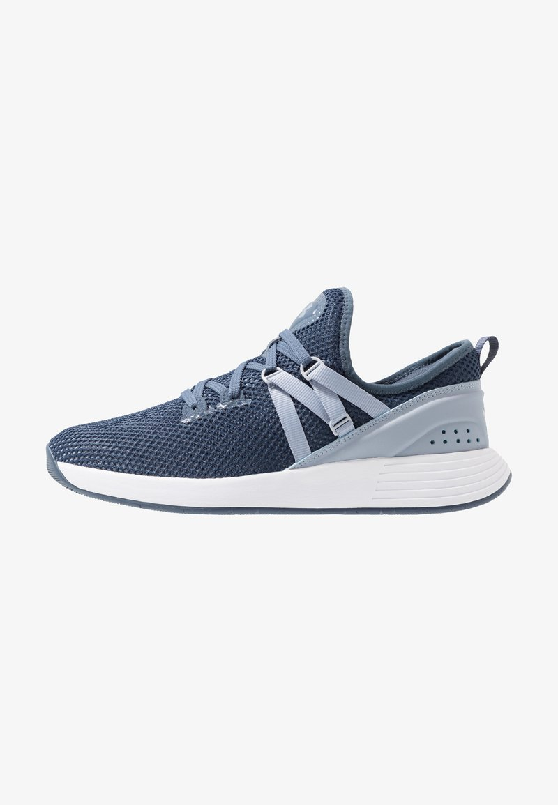 Under Armour - BREATHE TRAINER X NM - Treningssko - downpour gray/white/blue heights