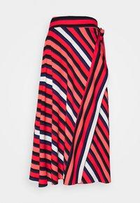 Diane von Furstenberg - TILDA - A-line skirt - shadow/pop red - 5