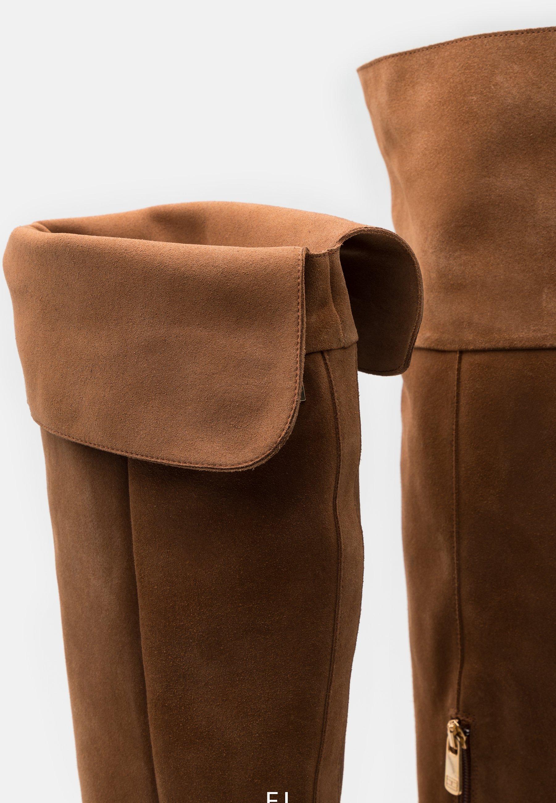 MODERN BOOT Laarzen met hoge hak natural cognac