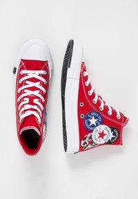Converse - CHUCK TAYLOR ALL STAR - Sneakers hoog - university red/black/rush blue - 4