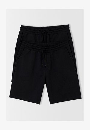 PACK OF 2 - Shorts - black