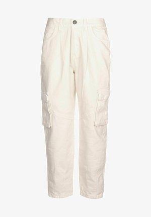 Pantalones cargo - whitesand