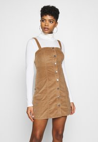 Hollister Co. - CHAIN BARE - Day dress - tan - 0