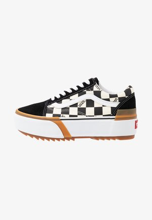 OLD SKOOL STACKED - Matalavartiset tennarit - multicolor/true white