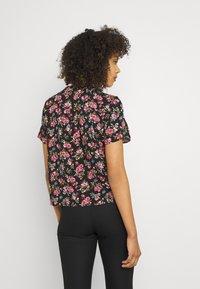 Vila - VICARE - Button-down blouse - black - 2
