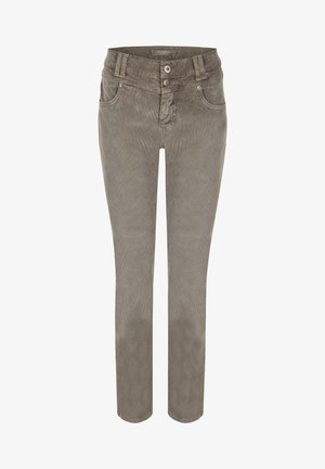 COLOURED CORD - Jeans Skinny Fit - grey denim