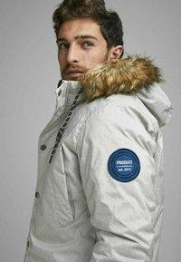 Produkt - Winter coat - light grey melange - 3