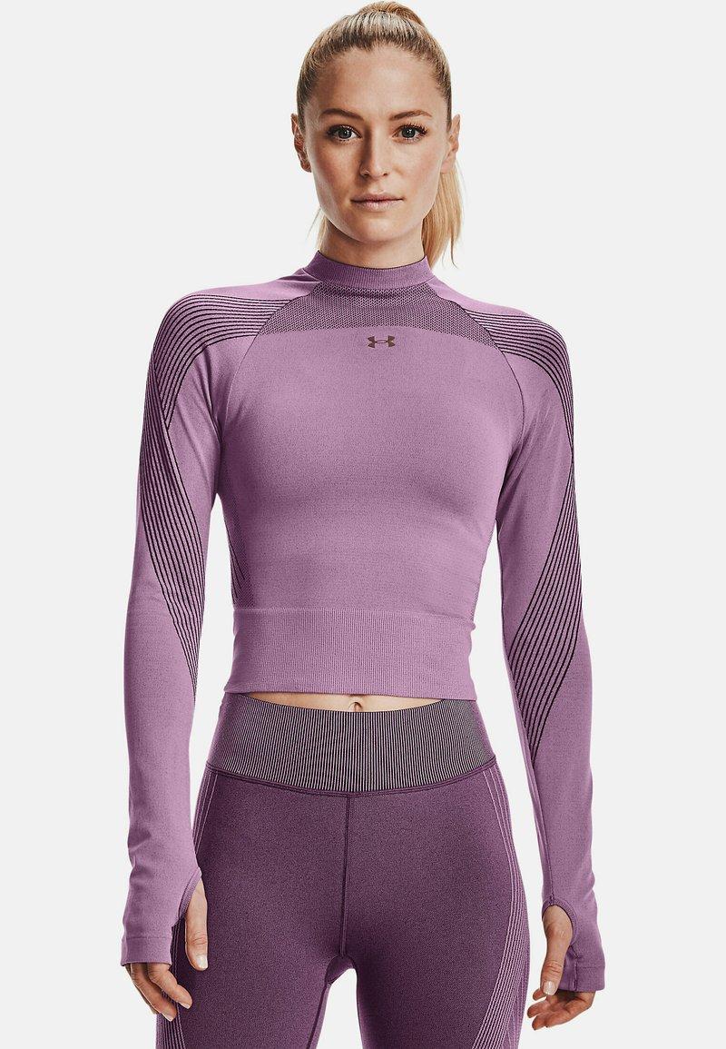 Under Armour - Sports shirt - polaris purple