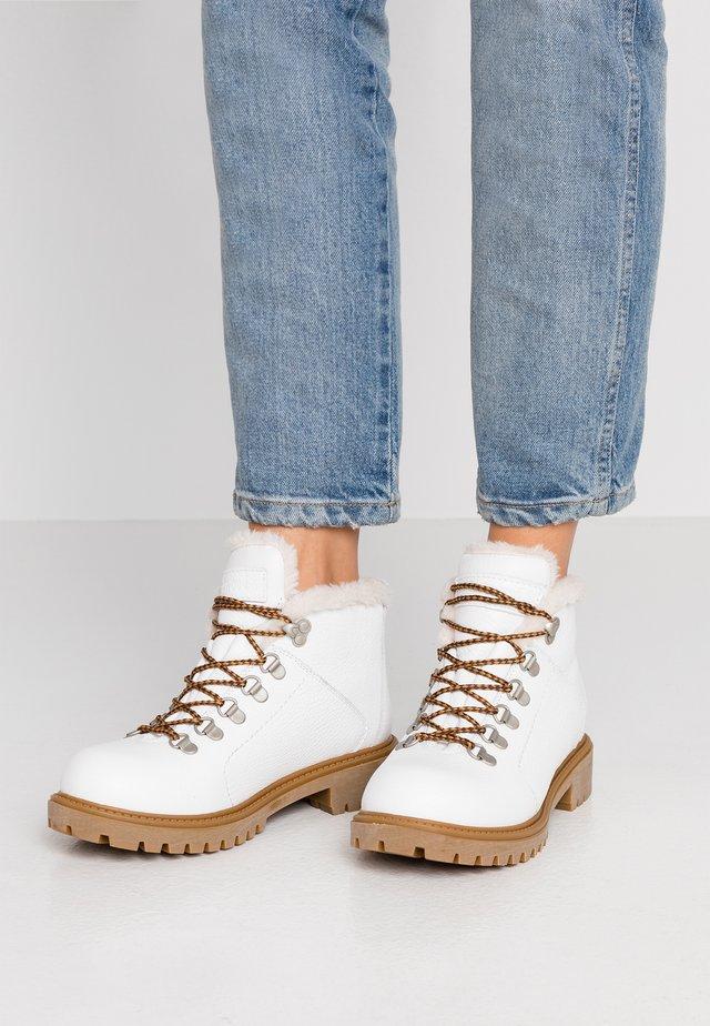 Ankelboots - white