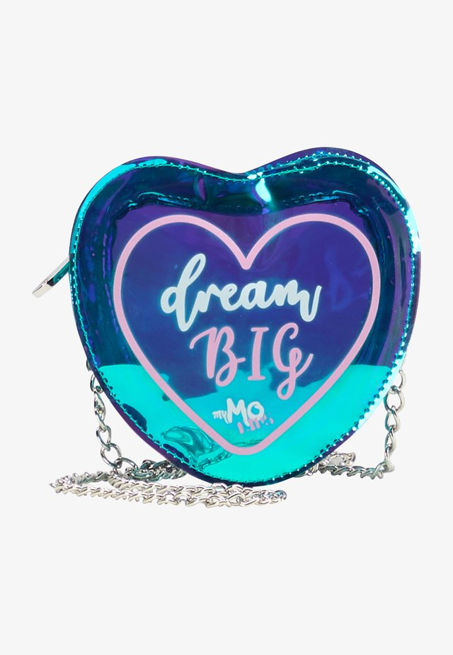 DREAM BIG - Sac bandoulière - grün holo