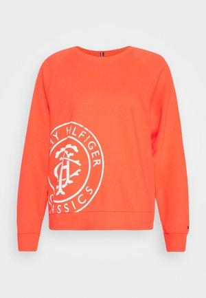VINCY REGULAR  - Sweatshirt - bright vermillion