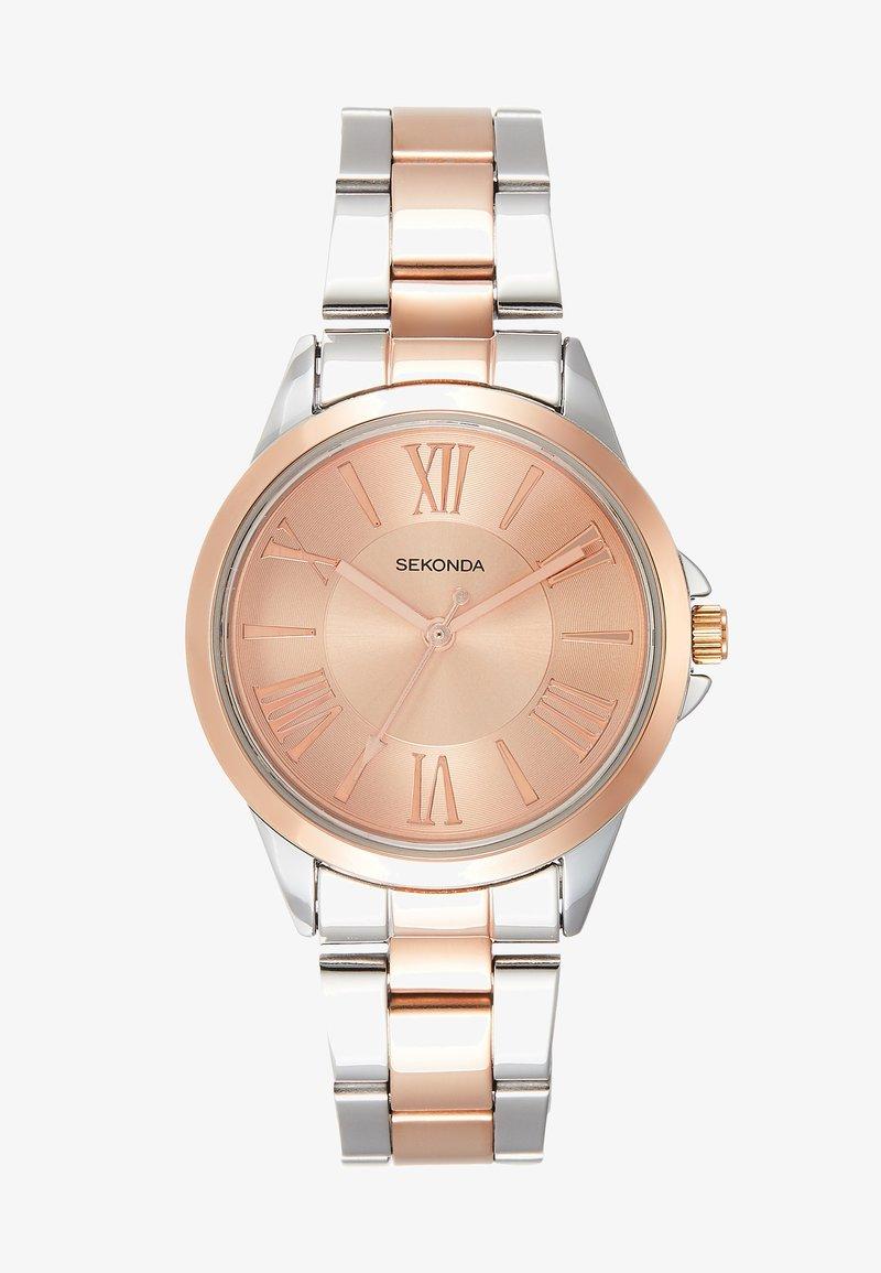 Sekonda - LADIES TWO TONE WATCH ROUND - Watch - silver-coloured