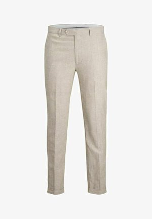 JPRRAY SID  - Suit trousers - beige