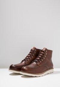 Zign - Lace-up ankle boots - cognac - 2
