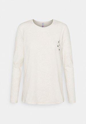 Pyjamashirt - whisperwhite melange