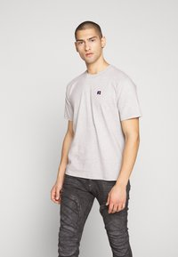 Russell Athletic Eagle R - BASELINERS TEE  - T-shirt basic - new grey - 0