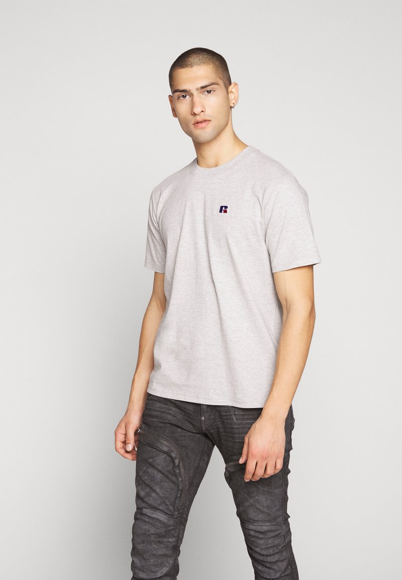 Russell Athletic Eagle R - BASELINERS TEE  - T-shirt basic - new grey