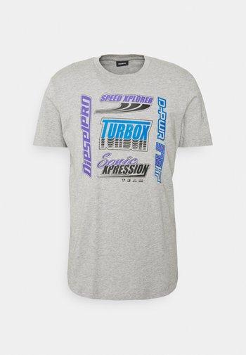 DIEGOS UNISEX - T-shirt med print - grey