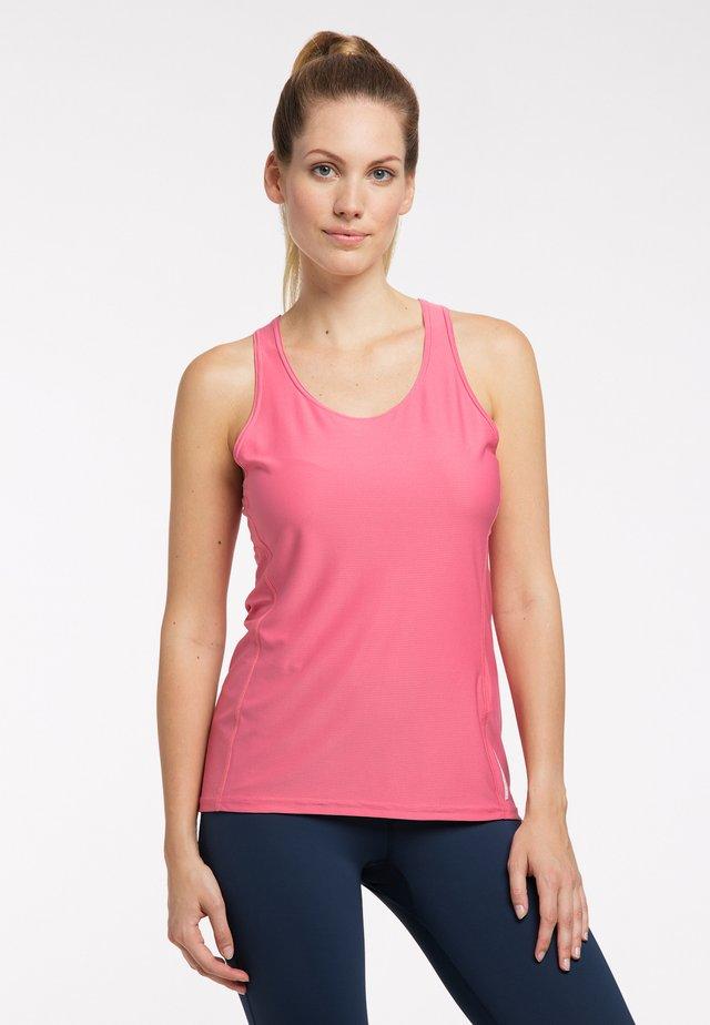 FUNKTIONS L.I.M TECH TANK - Sports shirt - tulip pink
