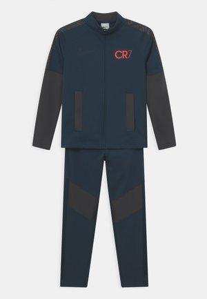 CR7 UNISEX - Tepláková souprava - armory navy/anthracite/black