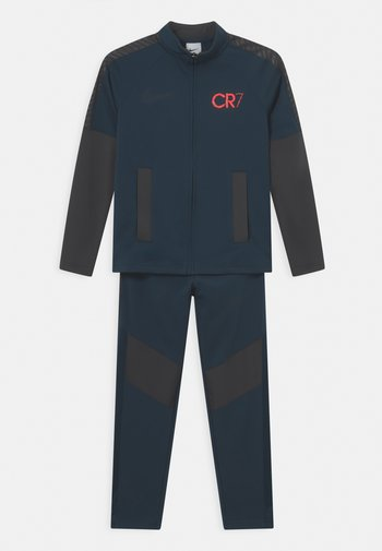 CR7 UNISEX - Trainingspak - armory navy/anthracite/black