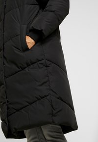 Noisy May - NMTALLY LONG JACKET - Winter coat - black - 5