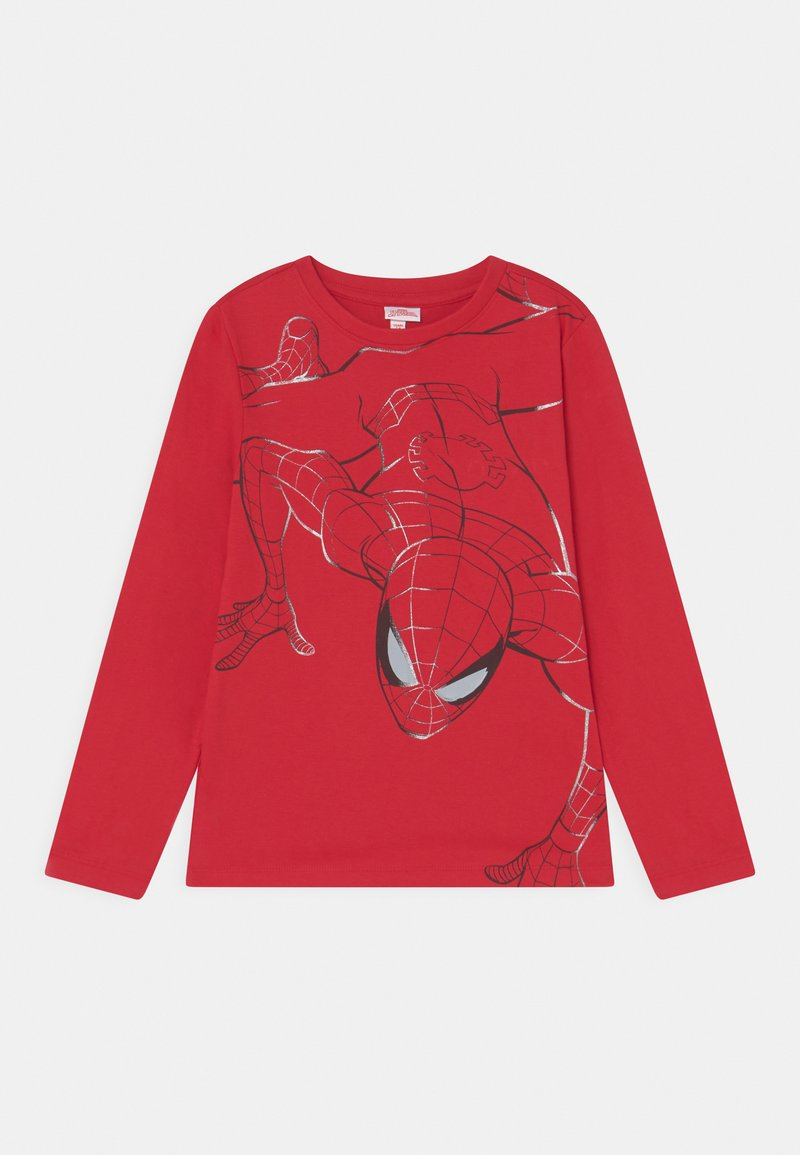 OVS - SPIDERMAN  - Long sleeved top - barbados cherry