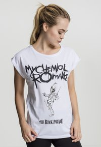Merchcode - MY CHEMICAL ROMANCE - Print T-shirt - white - 4