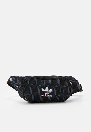 MONOGR WAISTBAG - Ledvinka - black