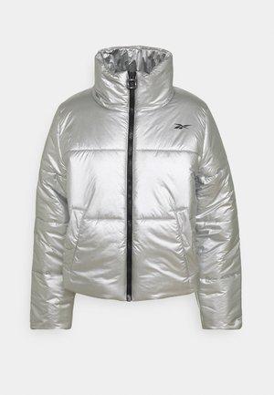 PUFF - Sports jacket - silver