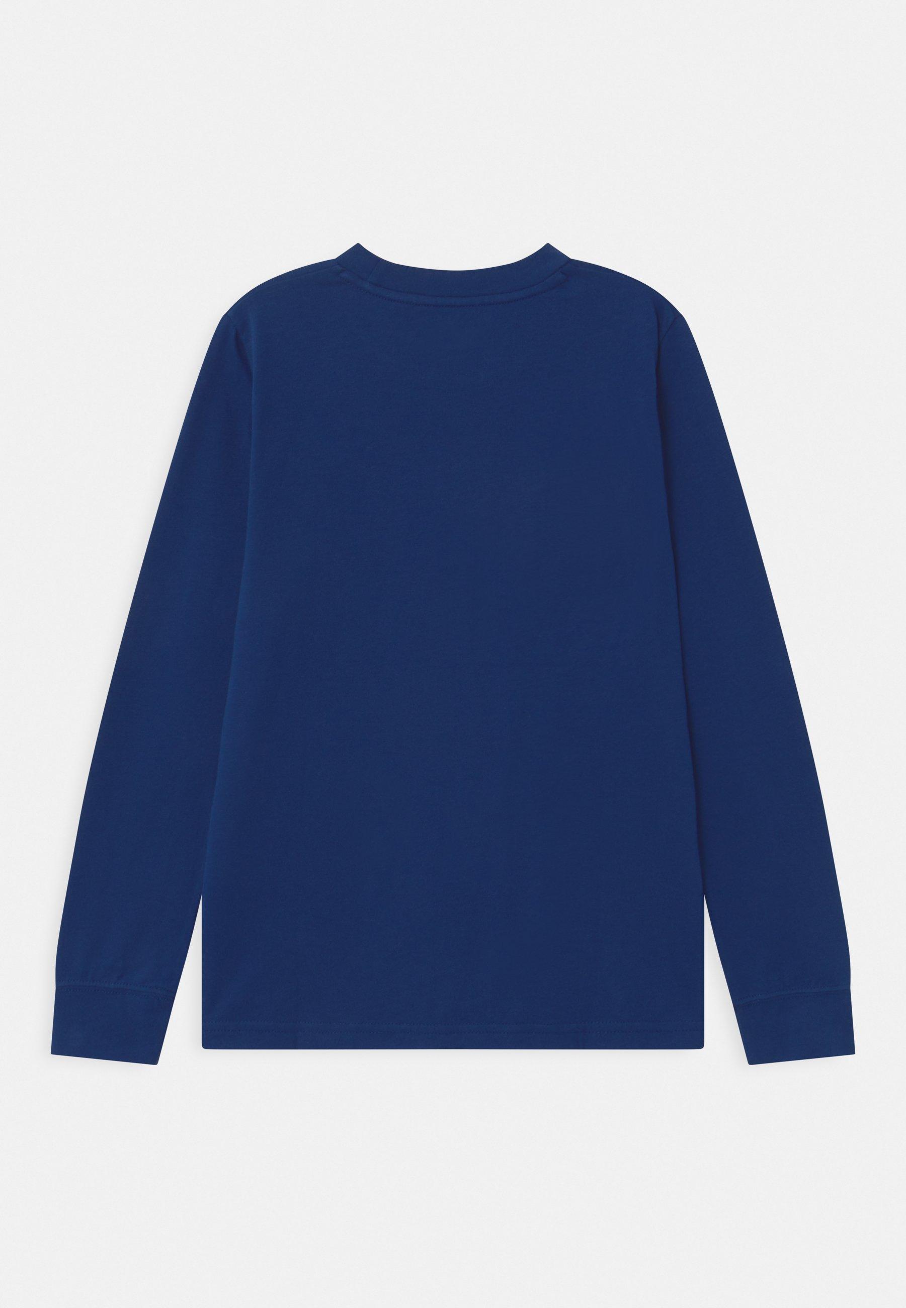 BASIC Långärmad tröja blue
