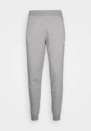 STRIPES PANT - Tracksuit bottoms - medium grey heather