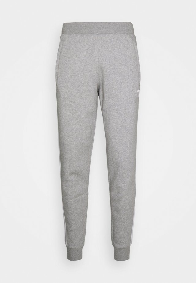 STRIPES PANT - Tracksuit bottoms - medium grey heather