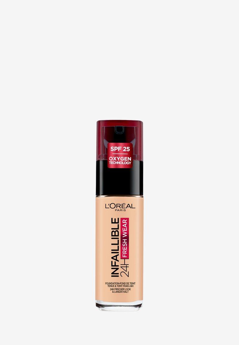 L'Oréal Paris - INFAILLIBLE 24H FRESH WEAR MAKE-UP - Foundation - 180 rose sand