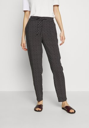 VMSIMPLY EASY LOOSE PANT - Pantalones - black/felicia tornado