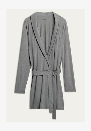 MORGEN - Dressing gown - mid grey blend