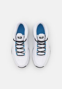 Jordan - MAX AURA 3 DIY UNISEX - Zapatillas de baloncesto - white/black/hyper violet/university blue/volt - 3