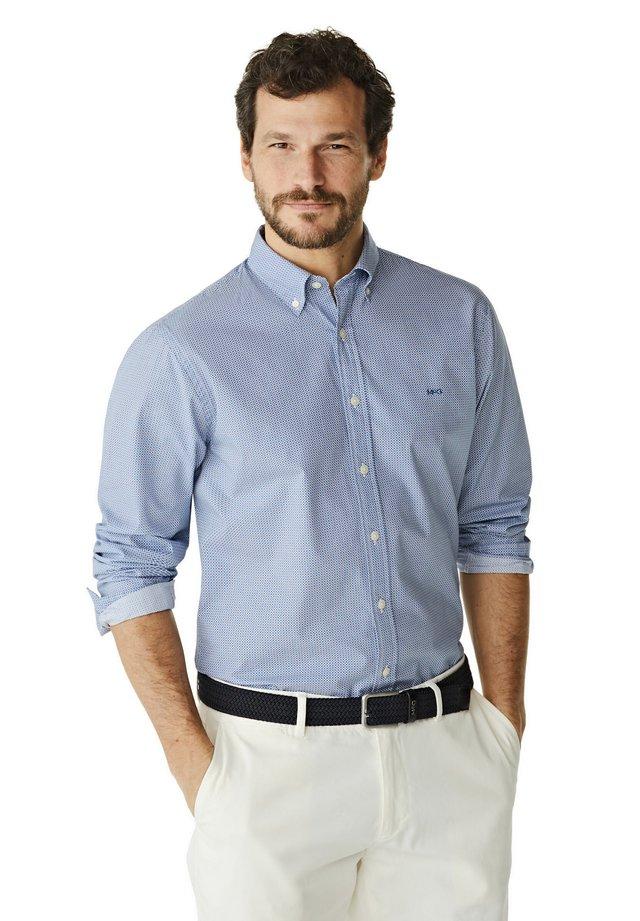 REGULAR FIT  - Overhemd - shirt blue