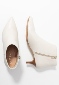 Unisa - JERUSA - Boots à talons - ivory - 3