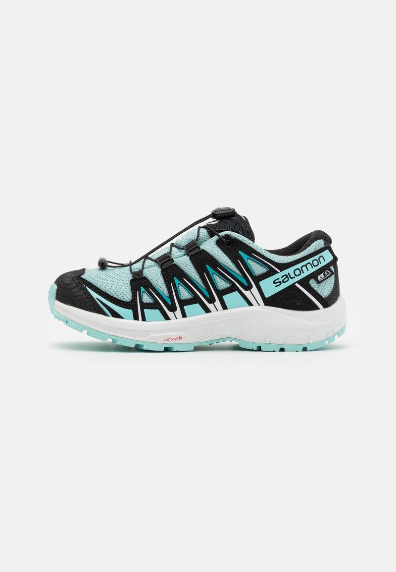 Salomon - XA PRO 3D CSWP UNISEX - Hiking shoes - pastel turquoise/black/tanager turquoise