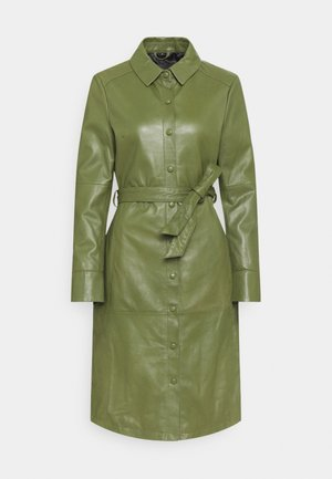 INDIANA - Shirt dress - dark green