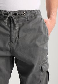 Urban Classics - JOGGING - Cargo trousers - darkgrey - 3