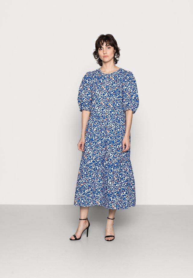 HARUKAIW DRESS - Maxi-jurk - dotted flowers